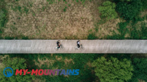Ride E-bikes in Swiss Mountains