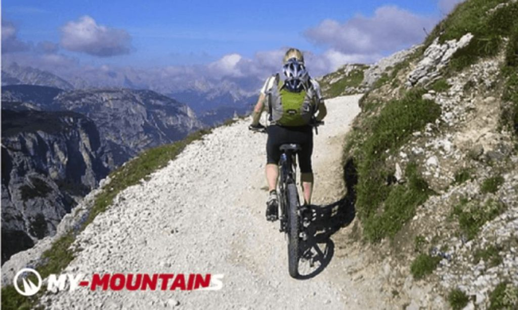 Engelberg Jochpass mountain bike trail