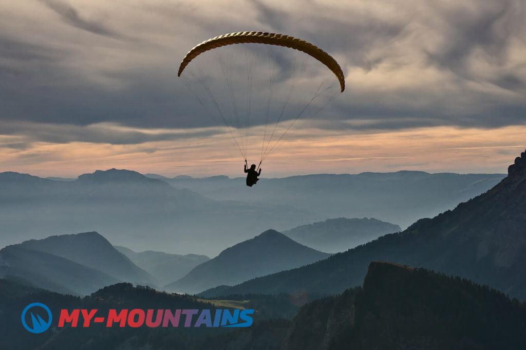 Paragliding tandem flights in Switzerland