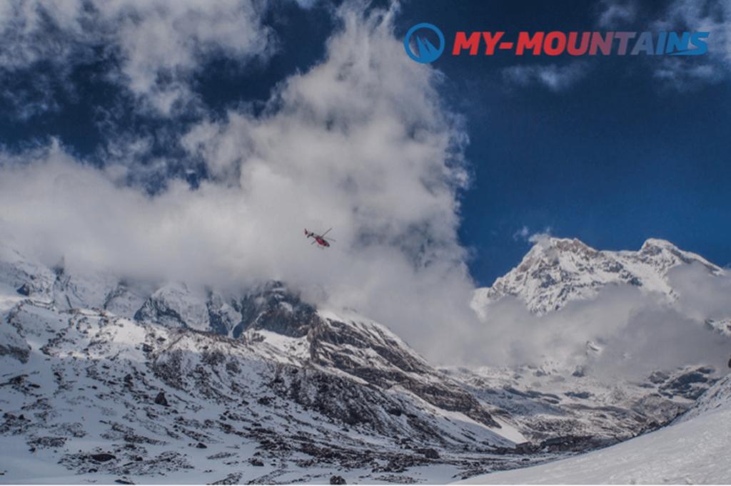 Helicopter adventures Matterhorn Interlaken Zermatt