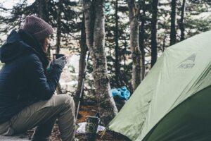 Outdoor camping in Switzerland - Summer in Switzerland