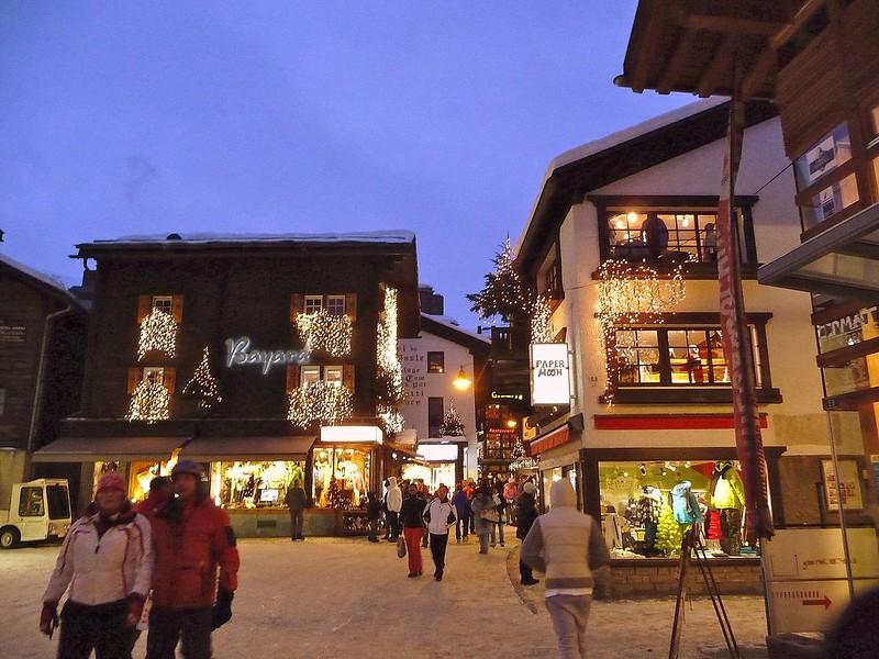 the town of Zermatt